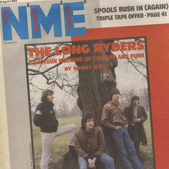 The Long Ryders 1985 NME Cover