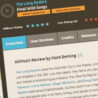 All Music Guide Review of Final Wild Songs