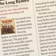Classic Rock Magazine Review of Final Wild Songs