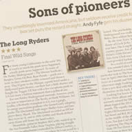 Mojo Magazine Review of Final Wild Songs
